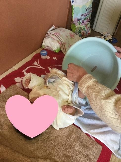 おむつなし育児の写真(うーたん)