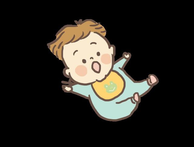 ぷにぷに赤ちゃんのイラスト