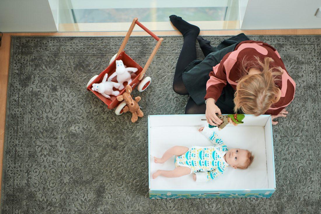 Finnish Baby Box(フィンランド・ベイビー・ボックス)はベビーグッズが一気に揃えられるよ!