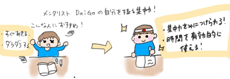 メンタリストDaiGoはこういう人におすすめ!のイラスト