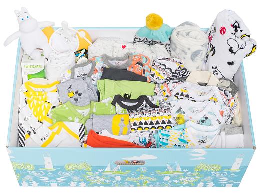 Finnish Baby Box(フィンランド・ベイビー・ボックス)の中身